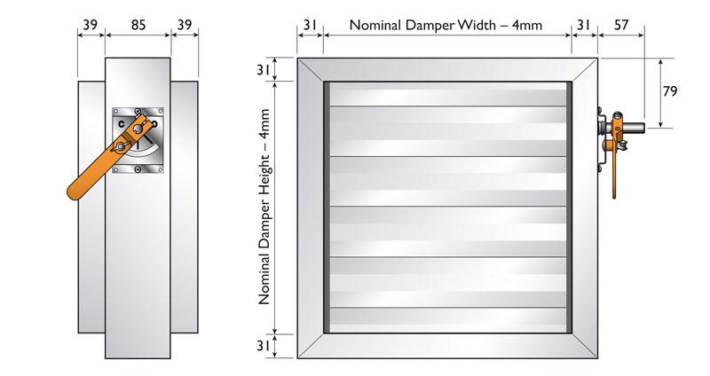 Spigotfit Dimensions